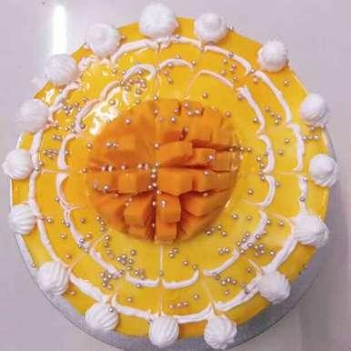 Photo of Mango cake :birthday: by दिपाली सावंत at BetterButter
