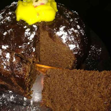 Photo of Chocolate cake by Anamika Bhatt at BetterButter