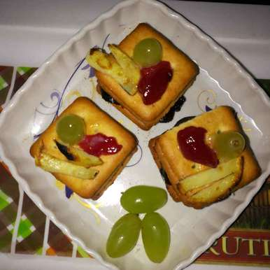 Photo of Topping biskits by Anamika Bhatt at BetterButter