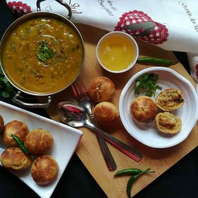 Photo of Daal baati by Anamika Bhatt at BetterButter