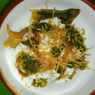 Photo of palak chaat by साची सचिन at BetterButter