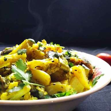 Photo of Winner special mixed vegetables chachari by শংকরী পাঠক at BetterButter