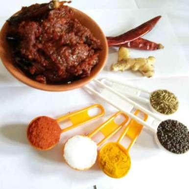 Mango ginger pickle  recipe in Telugu,మామిడిఅల్లం పచ్చడి, మనస్విని శెట్టి