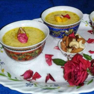 Photo of Mango yogurt by Debjani Dutta at BetterButter