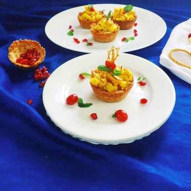 Photo of Zafrani pasta tart by Debjani Dutta at BetterButter
