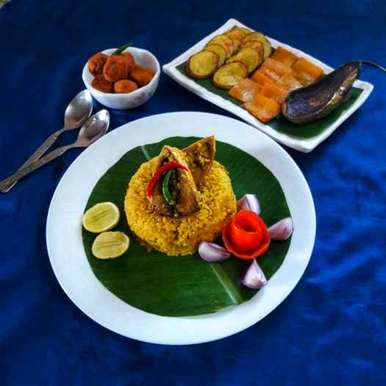 Photo of Hilsa vuna khichdi (in bengali style) by Debjani Dutta at BetterButter
