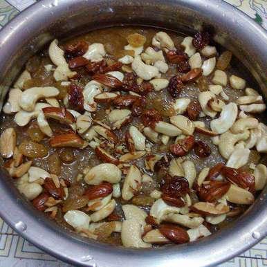 Suji halwa. recipe in Telugu,సత్యనారాయణ ప్రసాదం., దూసి గీత