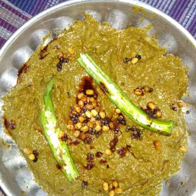 Gongura, sesame seeds chutney. recipe in Telugu,గోంగూర,నువ్వులపప్పు పచ్చడి., దూసి గీత