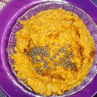 Ridge gourd chutney recipe in Telugu,బీరకాయ పచ్చడి., దూసి గీత