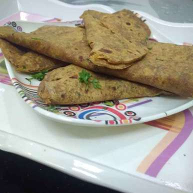 Photo of Parota with  mango pickle. by దూసి గీత at BetterButter