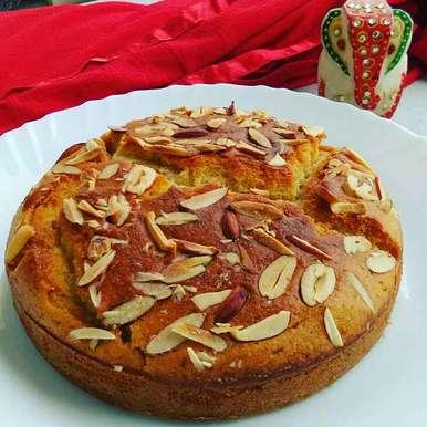 Photo of Egggles vanilla cake (kadhai men banaye) by Abhilasha Gupta at BetterButter