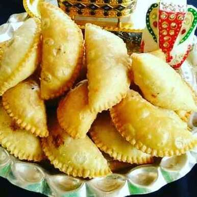 Photo of Mava dry fruits gujiya by Abhilasha Gupta at BetterButter