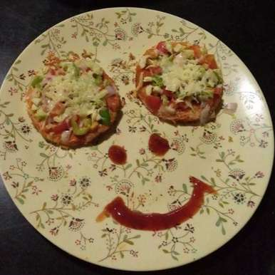 Photo of Mini pizza by Aachal Jadeja at BetterButter