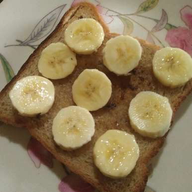 Photo of Honey banana with brown bread by Aachal Jadeja at BetterButter