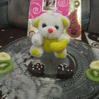 Photo of Chocobanana heart  pancake by Aachal Jadeja at BetterButter