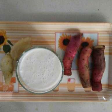 Sweet potato smoothie, How to make Sweet potato smoothie