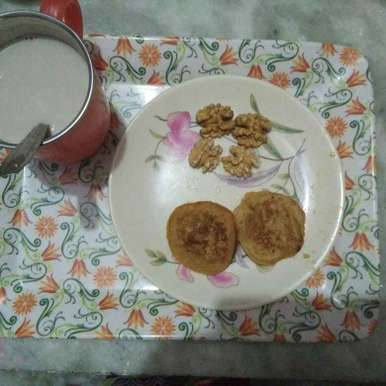 Photo of Banana pancake with sugar by Aachal Jadeja at BetterButter