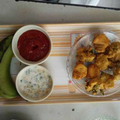 Photo of Banana methi pakode by Aachal Jadeja at BetterButter