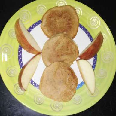 Photo of Apple pancake by Aachal Jadeja at BetterButter