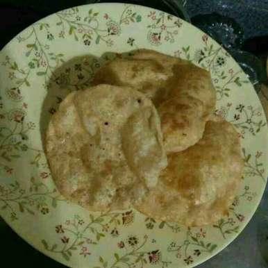 Poori recipe in Gujarati, પુરી, Aachal Jadeja