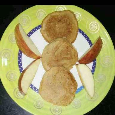 Photo of Apple pancake by Aachal Jadeja at BetterButter