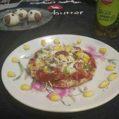 Photo of Multigrain healthy flour bhakhri pizza by Aachal Jadeja at BetterButter