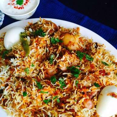 Photo of Hyderabadi Chicken Dum Birayni (Kachi) by Aameena Ahmed at BetterButter