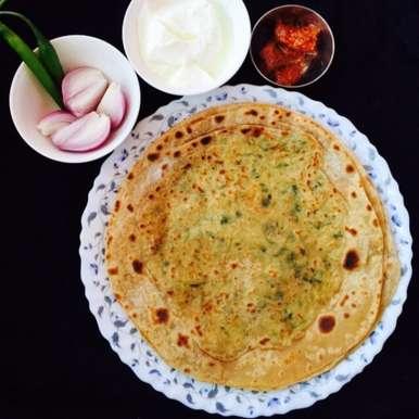 Photo of Mooli (white raddish) ka paratha by Aameena Ahmed at BetterButter