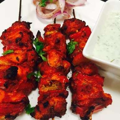 Photo of Fish Tikka with Mint Chuntney by Aameena Ahmed at BetterButter