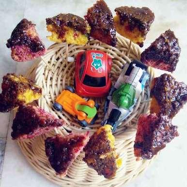 Photo of Beetroot carrot healthy cake (gehu ke aate se bani) by yamini Jain at BetterButter