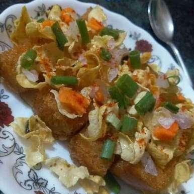 Pav papad stick recipe in Hindi,पाव पापड़ स्टिक, yamini Jain