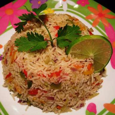 Photo of Stir Fried Rice with Vegetables by Aarti Sharma at BetterButter