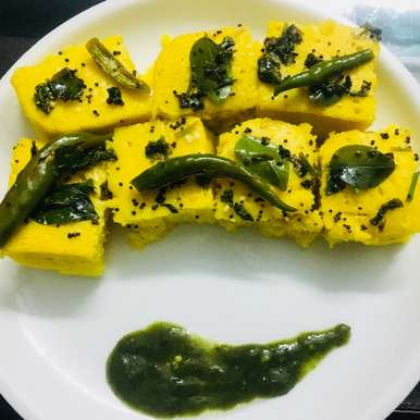 Photo of Instant Microwave Dhokla by Aastha Tiwari at BetterButter