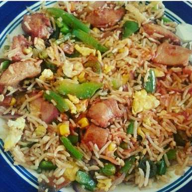Photo of Garlic Chicken Fried Rice by Aayushi Manish at BetterButter