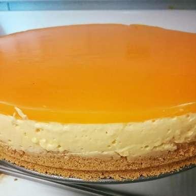 Photo of No Bake Mango Cheesecake by Aayushi Manish at BetterButter
