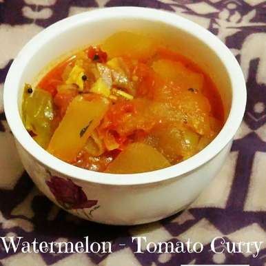 Photo of Watermelon-Tomato Curry by Abhinetri V at BetterButter