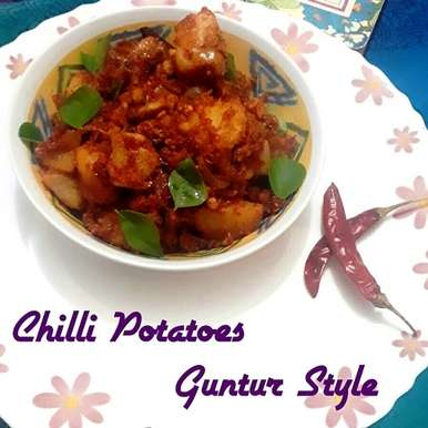 Photo of Chilli Potatoes { Guntur Style } by Abhinetri V at BetterButter