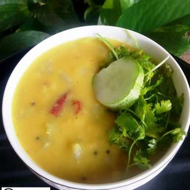 Photo of Kheera Pappu / Salad Cucumber Dal by Abhinetri V at BetterButter