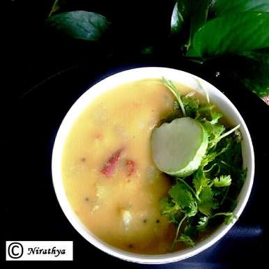 Photo of Kheera Pappu / Salad Cucumber Dal by Abhinetri V at BetterButter