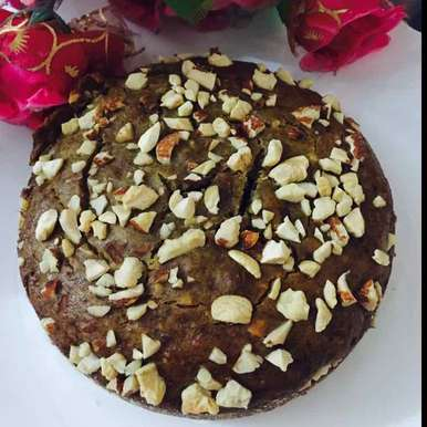 Photo of Banana almond cashew cake by Abhipsa Sahoo at BetterButter