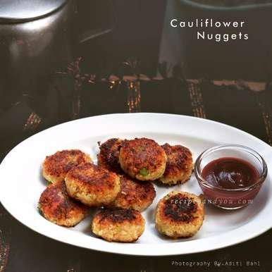 Photo of Cauliflower Nuggets by Aditi Bahl at BetterButter