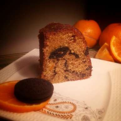 Photo of Wholewheat Orange Cookie Flair Cake by Aditi Bahl at BetterButter