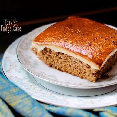Photo of Turkish Fudge Cake- Whole wheat by Aditi Bahl at BetterButter
