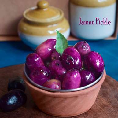 Photo of Instant Jamun Pickle by Aditi Bahl at BetterButter