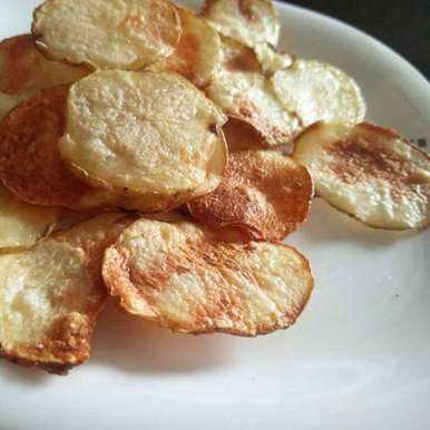 Photo of Microwave Potato Chips by Aditi Malhotra at BetterButter