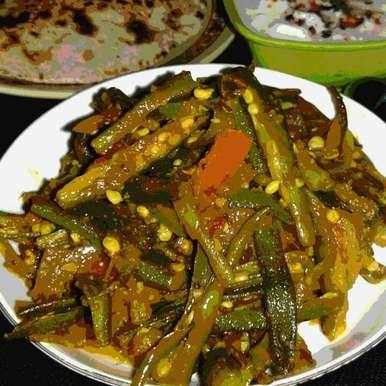 Photo of Vendakkai poriyal by sanjana agarwal at BetterButter