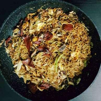 Photo of Stir Fried Mi Goreng Noodles by Affaf Ali at BetterButter
