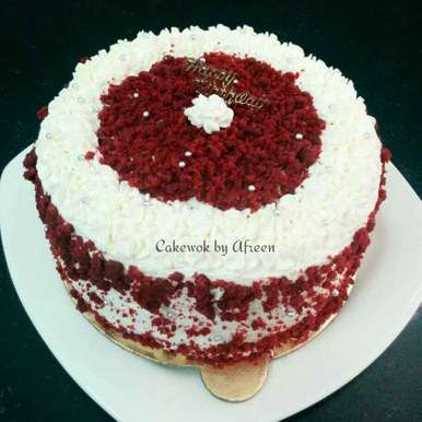 Photo of Red Velvet Cake by Afreen Usman at BetterButter