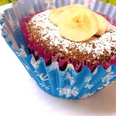 Photo of Banana and Oats Cupcakes  by Afroz Shaikh at BetterButter
