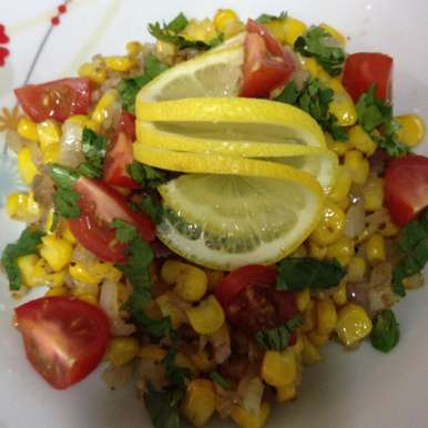 Photo of Sweet Corn Chaat by Afroz Shaikh at BetterButter